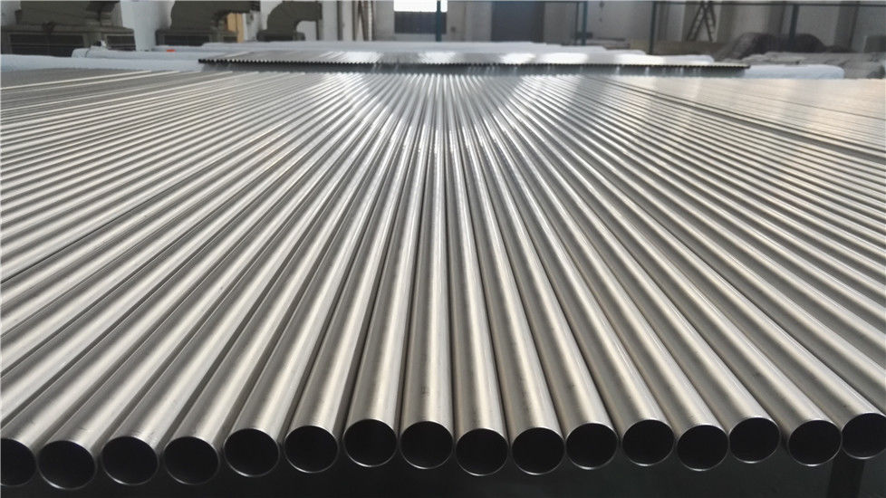 Bright Surface Heat Exchanger Tube , 12mm Thickness Grade 2 Titanium Tubing