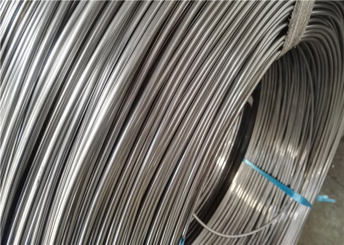 Bright Finishing Steel Bundy Tube , 12mm Outer Diameter Coated Steel Tube
