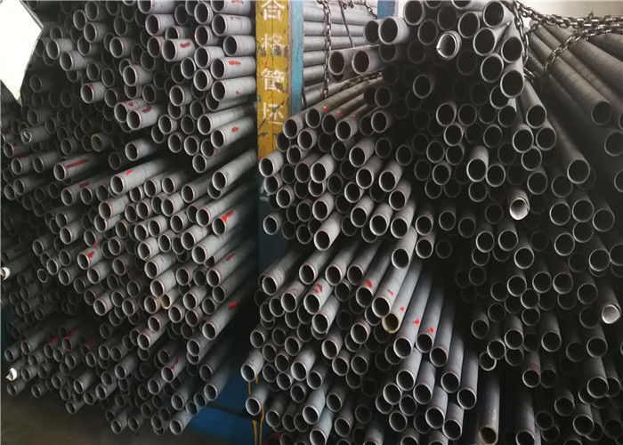 Normalized Bearing Steel Tube Anti Corrosion , Phosphating Surface Round Steel Pipe